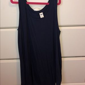 Old Navy tank top. Navy blue size small